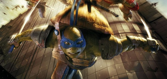 Teenage Mutant Ninja Turtles get a UK poster