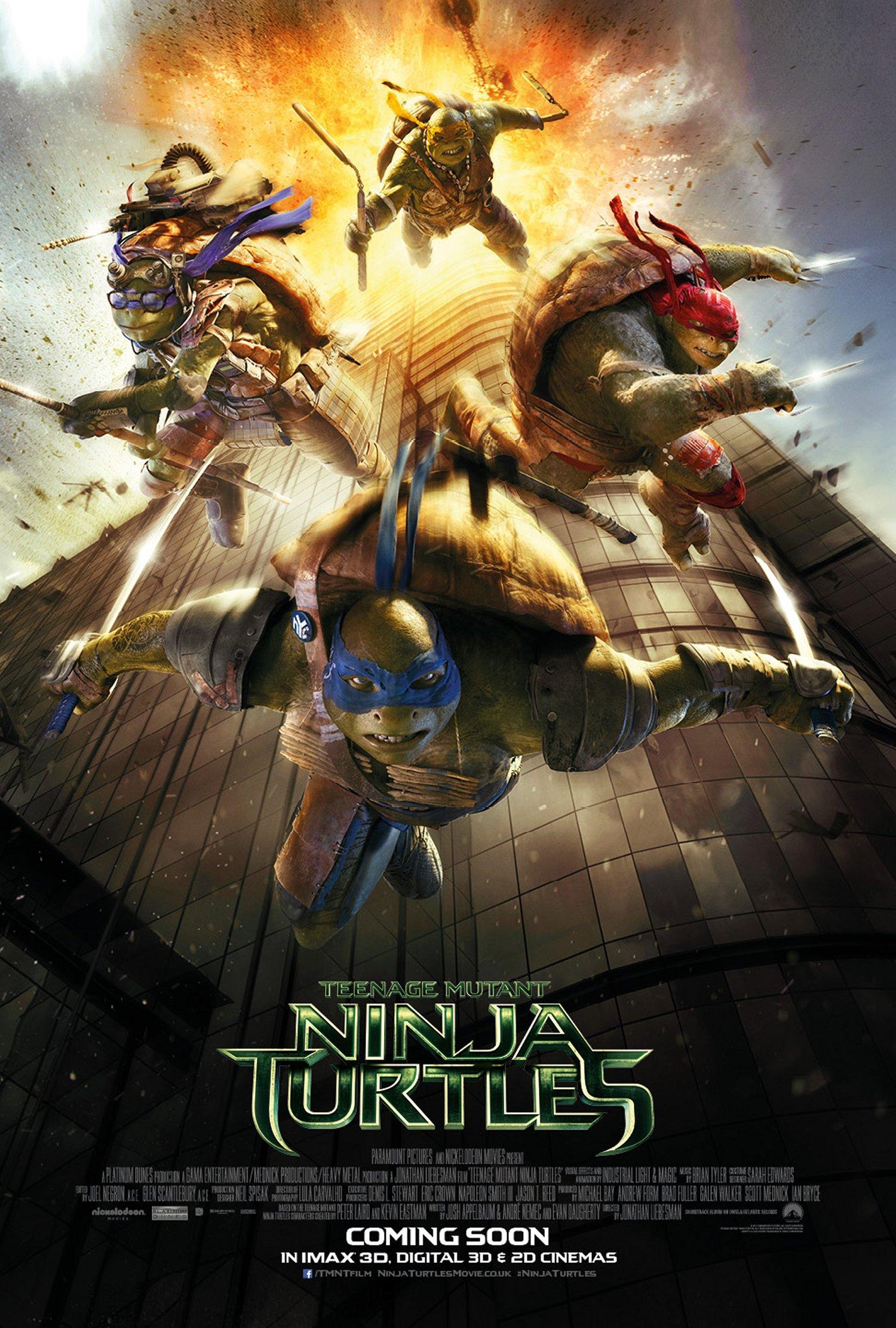 Teenage Mutant Ninja Turtles UK poster