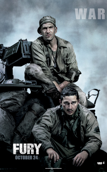 War - Fury poster