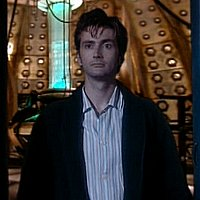 The Doctor and Arthur Dent