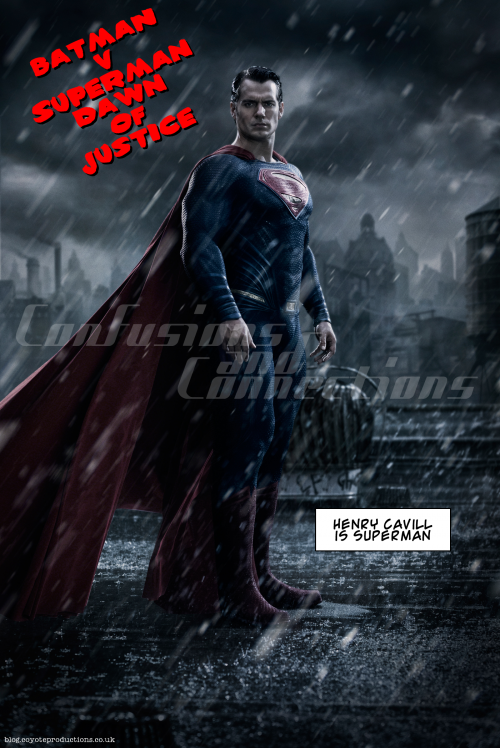 Superman in a different sort of film