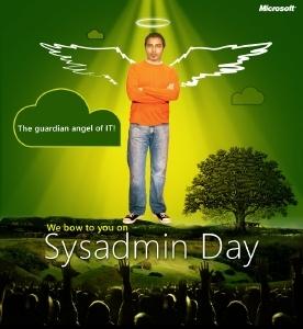 Hug your SysAdmin today…