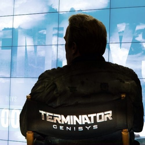 Arnie releases the name of the new terminator film