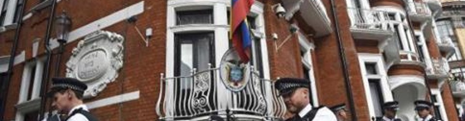 Julian Assange's Ego has left the Embassy