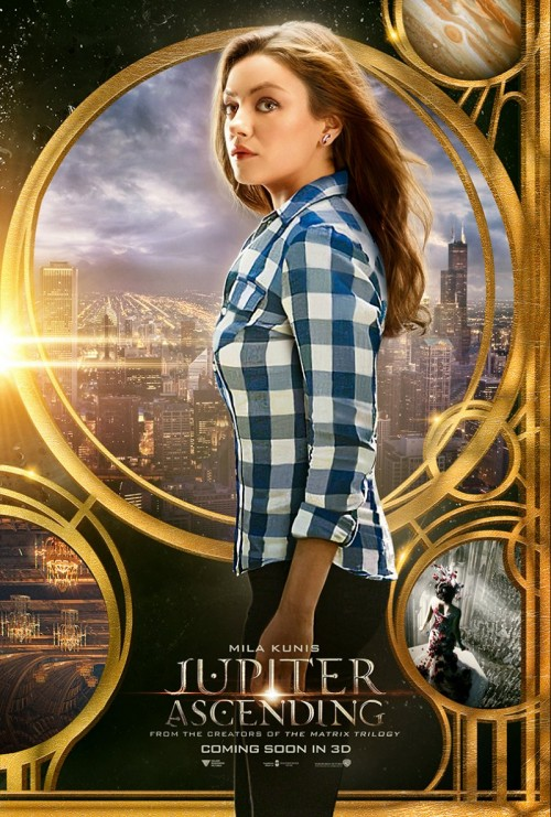 Jupiter Ascending poster  - Mila Junis