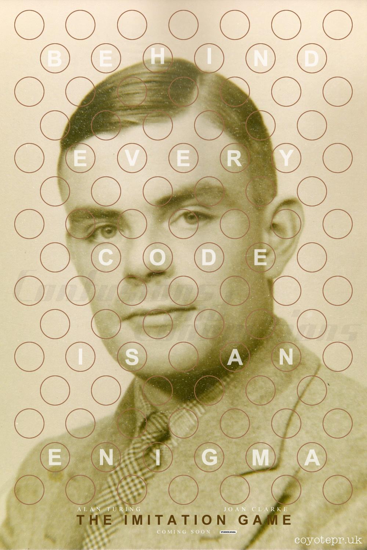 The Imitation Game, Alan Turing poster