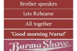 A 21st century take on Burma-Shave