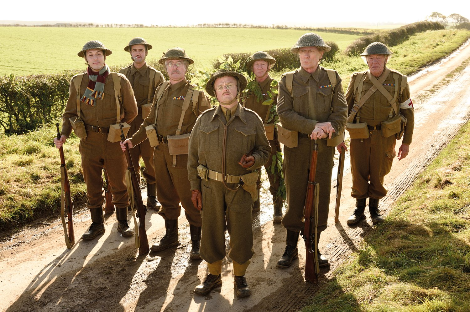 The Walmington-on-Sea Home Guard in Dad's Army