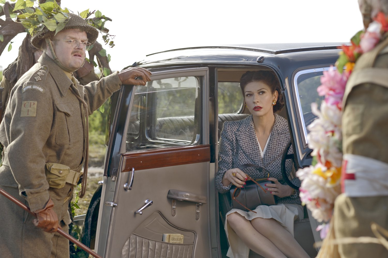 Catherine Zeta Jones as Rose in Dad's Army