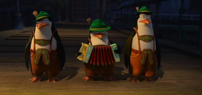 More about the Penguins of Madagascar