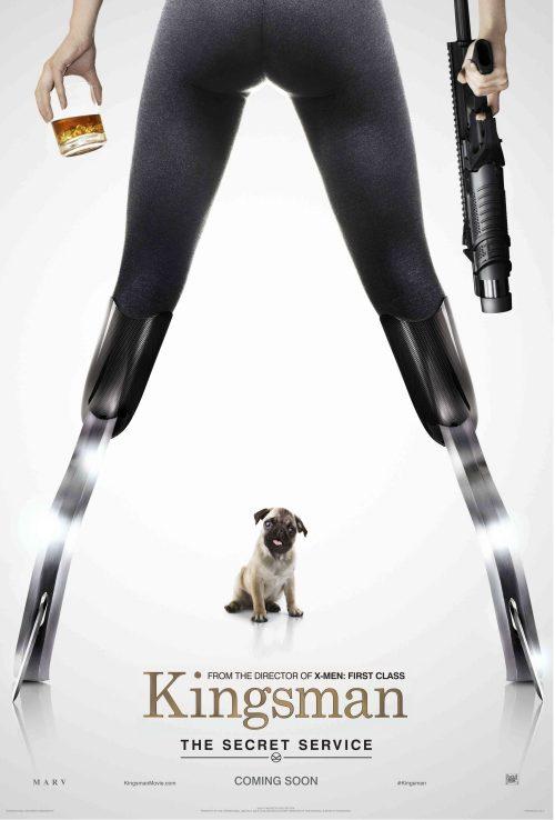 Kingsman - JB The Pug