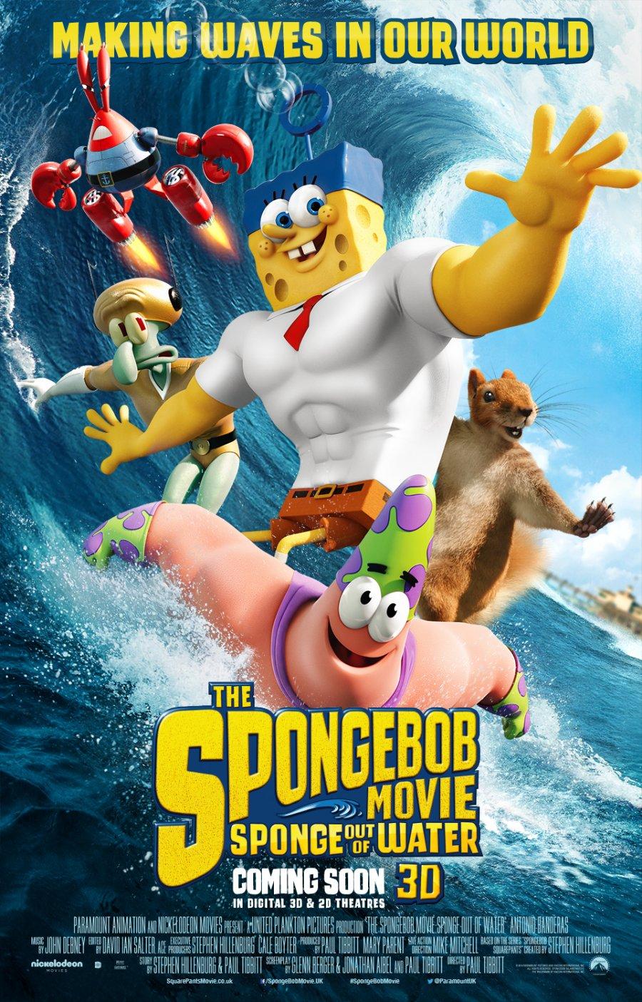SpongeBob SquarePants Sponge out of Water poster