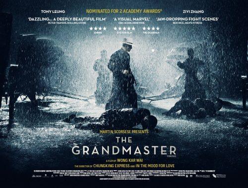 The Grandmaster new UK poster