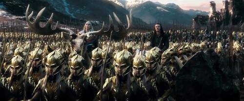 The Hobbit - The Battle of the Five Armies line up