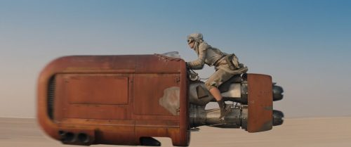 Personal transportation chas changed since Luke's landspeeder