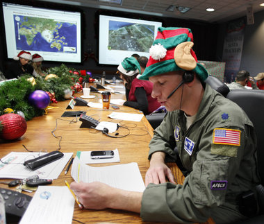 NORAD helping to track santa