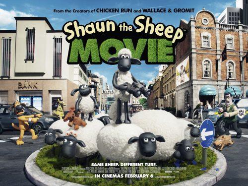 Shaun - roundabout poster