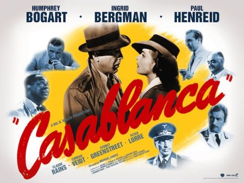 Casablanca Park Circus poster