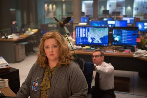Melissa McCarthy with flying bugs?
