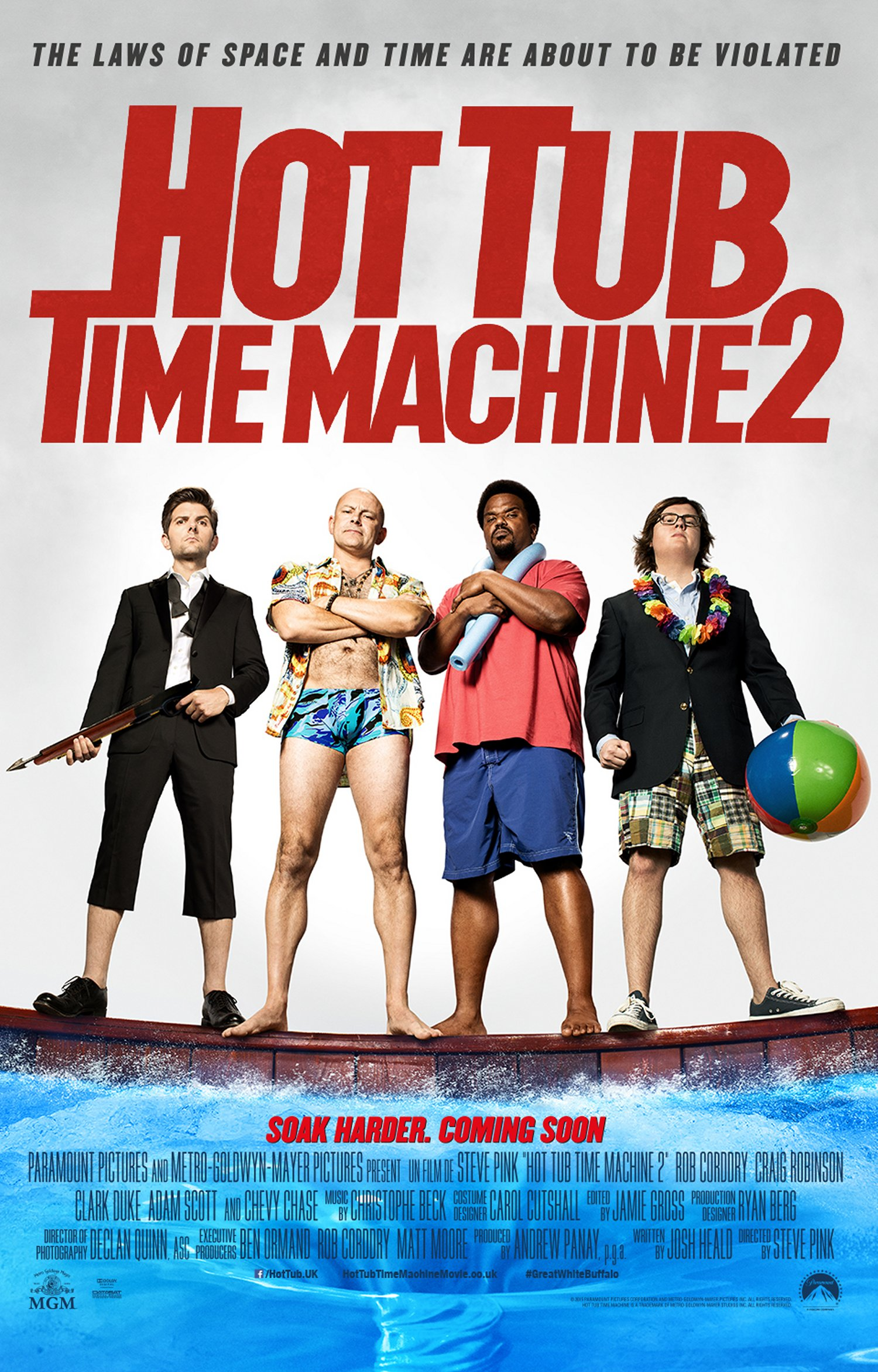 Hot Tub Time Machine 2 – poster