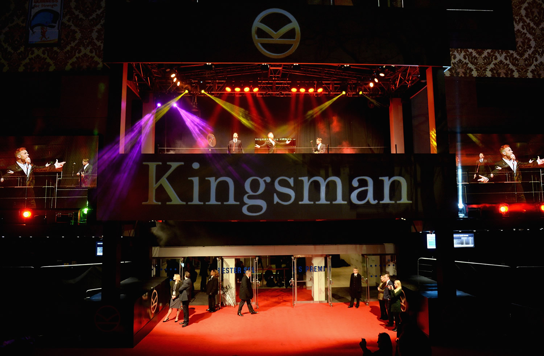 Kingsman world premiere