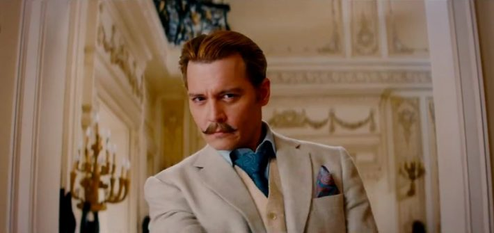 Mortdecai  gets a TV spot