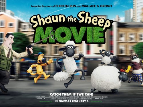 Shaun The Sheep - Chase poster quad