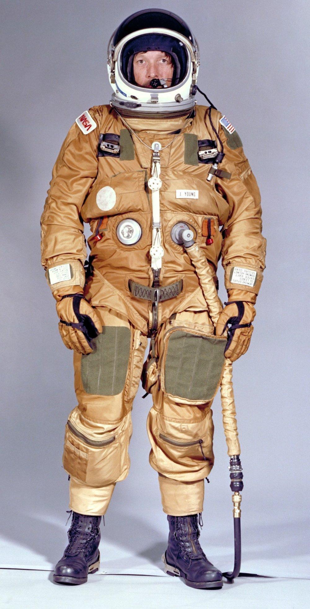 Shuttle Ejection Escape Suit – John Young