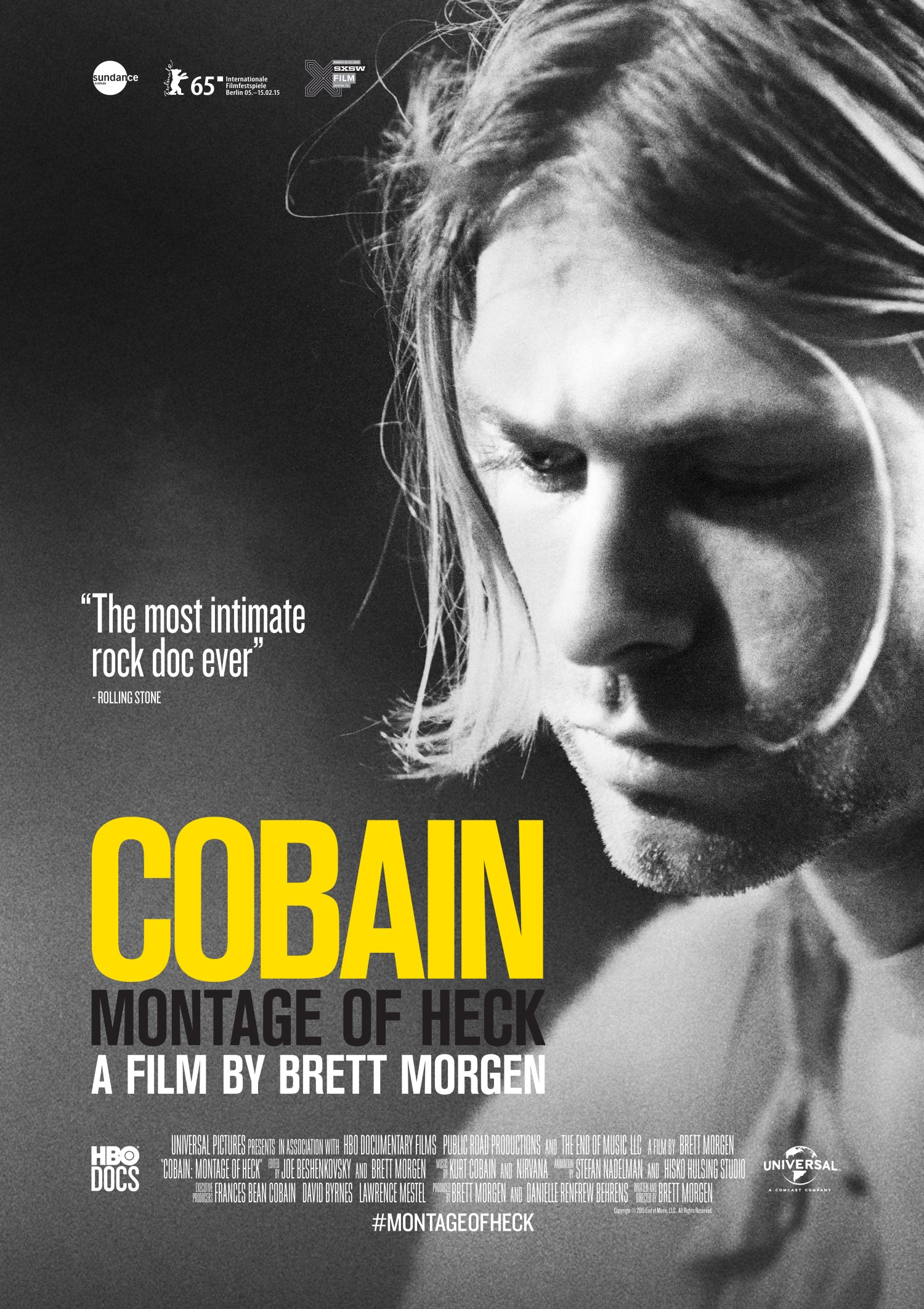 Cobain one sheet