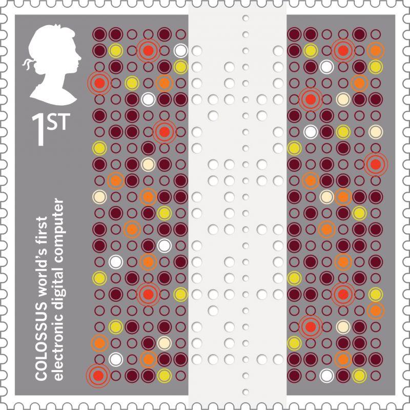 Inventive Britain – Colossus Stamp
