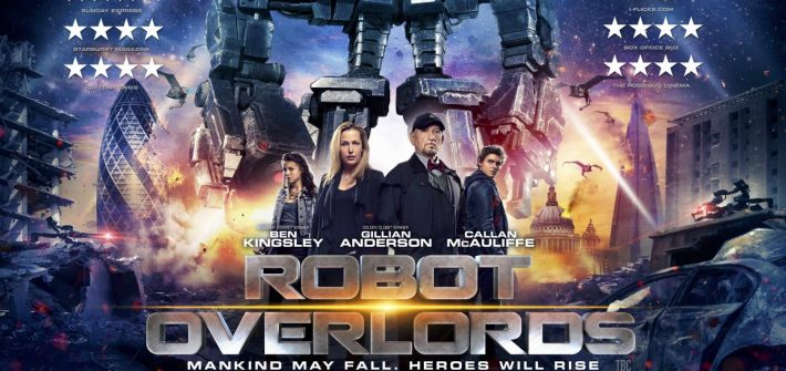 Watch the Robot Overlords invade Earth