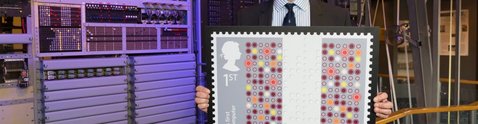 Royal Mail honours Tommy Flowers with a first class Colossus stamp