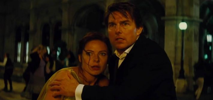 Ethan Hunt is back in Rogue Nation