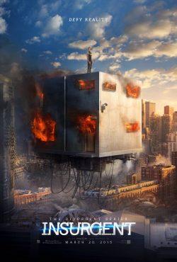 Divergent - Insurgent Cube poster