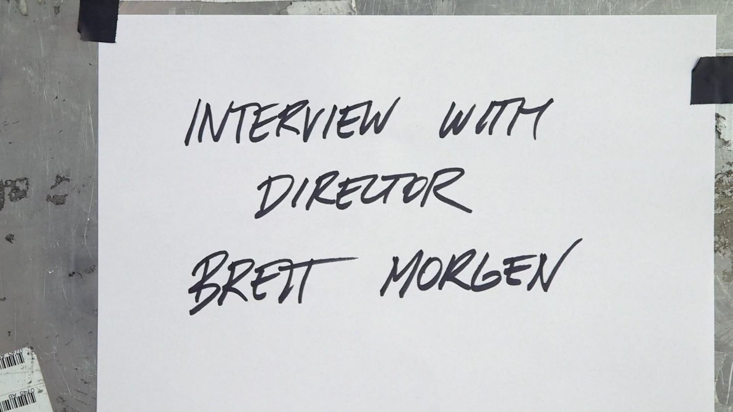 Interview with director of Cobain Montage of Heck Brett Morgen