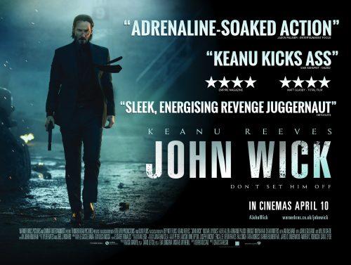John Wick quad poster