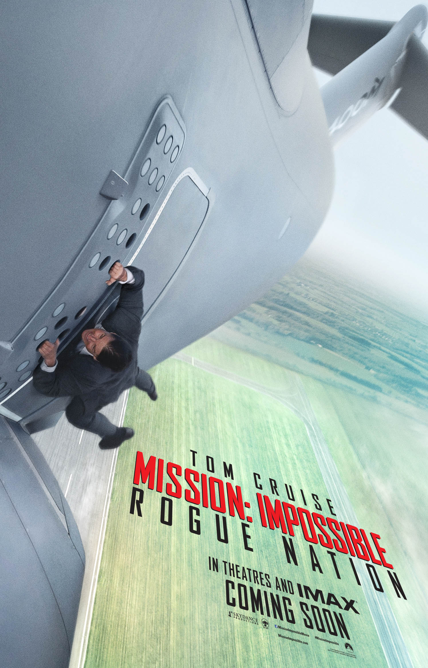 Mission Impossible – Rogue Nation teaser poster