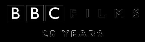 bbc films 25 years logo