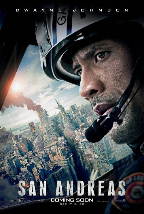 San Andreas main poster