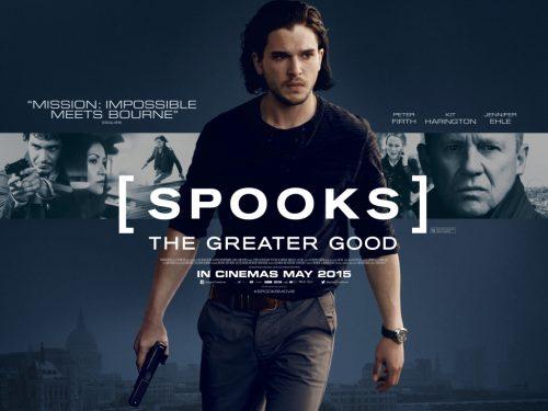 Spooks quad poster