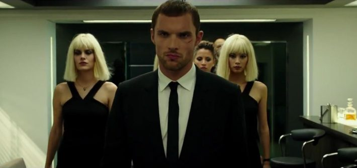 The Transporter's UK trailer