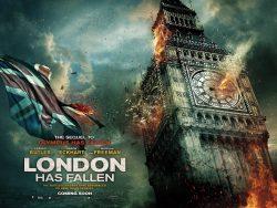 London has Fallen - Big Ben poster