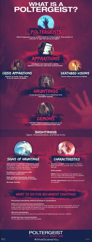 Poltergeist infographic