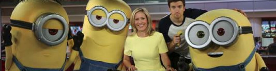 The Minions are lose at the Beeb!