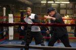 Rocky is training Creed!