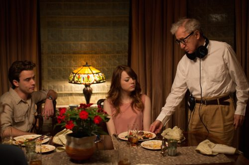 Woody Allen filming The Irrational Man