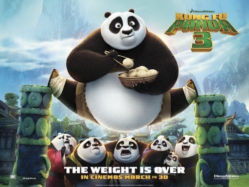 Kung Fu Panda 3 teaser poster