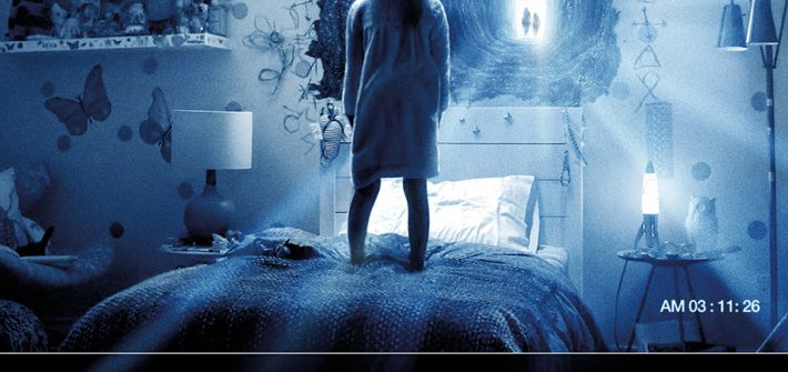 Paranormal Activity The Ghost Dimension has a poster