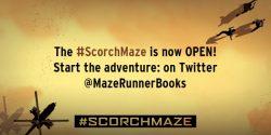 Be a Maze Runner with Scorch Maze