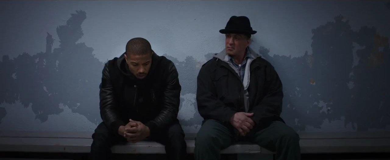 Creed and Rocky together